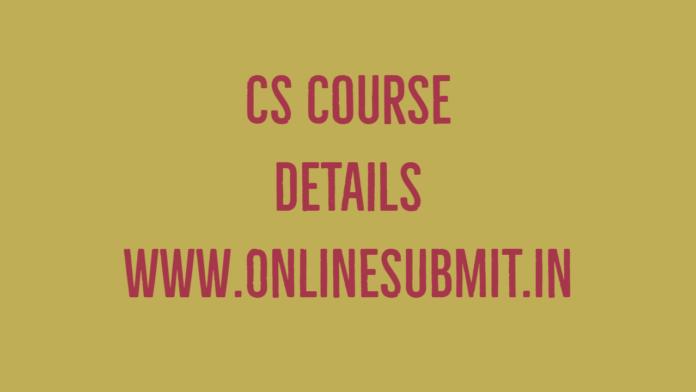 CS Course details