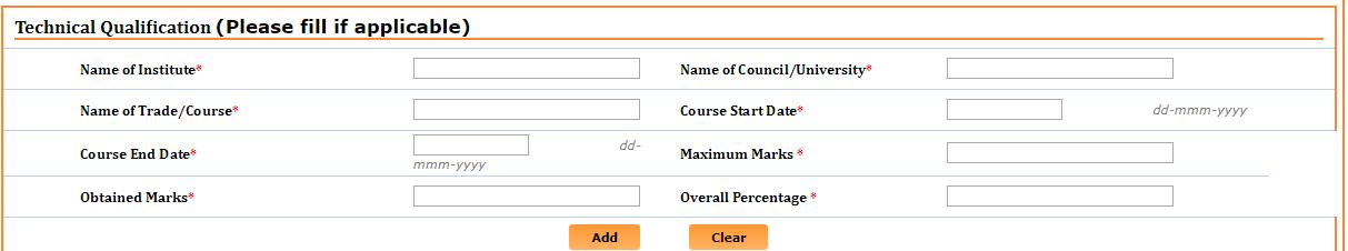 NCVT MIS Technical qualification details