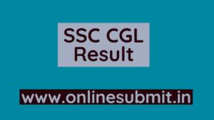 SSC CGL Result 2020